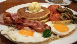 sarapan pagi protein tinggi